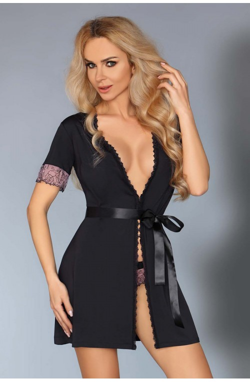 Seksualus apatinių rūbų komplektas modelis 113937 Livia Korsetasti Fashion
