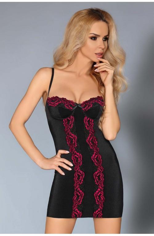 Seksualus apatinių rūbų komplektas modelis 113944 Livia Korsetasti Fashion