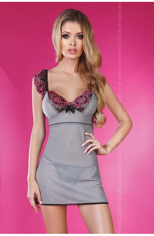 Seksualus apatinių rūbų komplektas modelis 84194 Livia Korsetasti Fashion