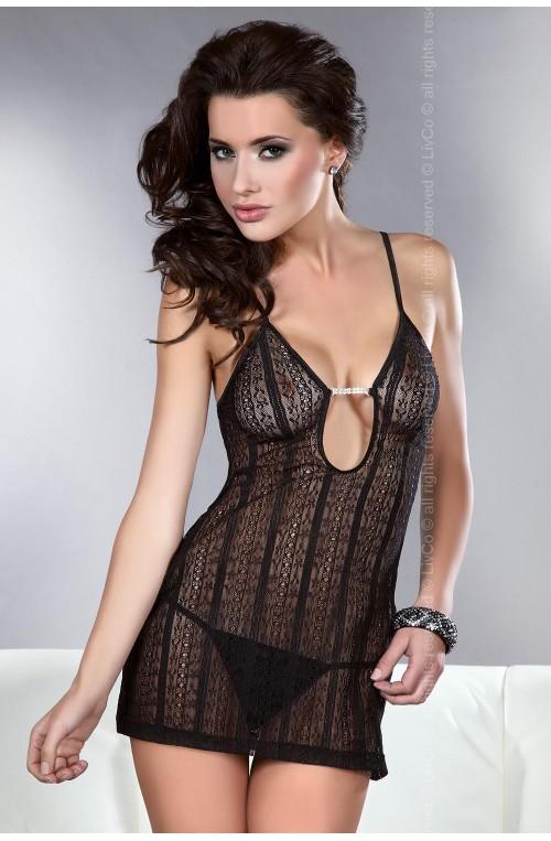 Seksualus apatinių rūbų komplektas modelis 84200 Livia Korsetasti Fashion