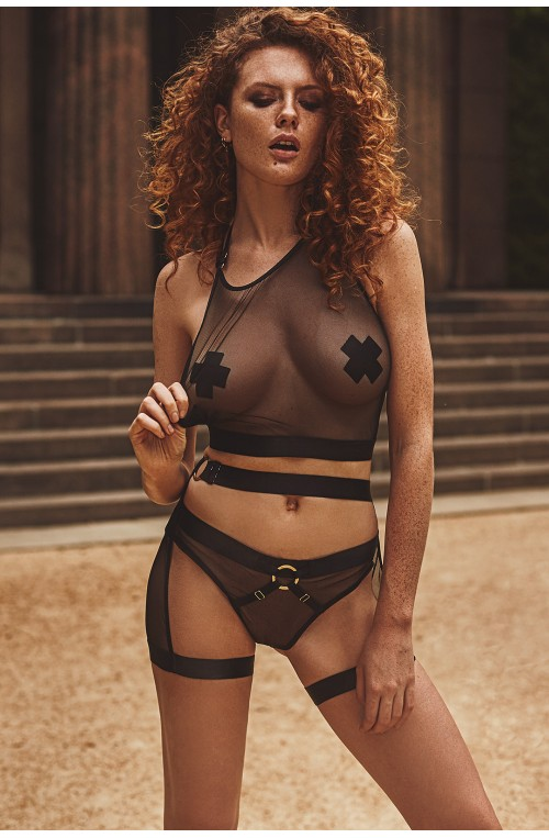 Seksualus apatinių rūbų komplektas modelis 145192 Anais