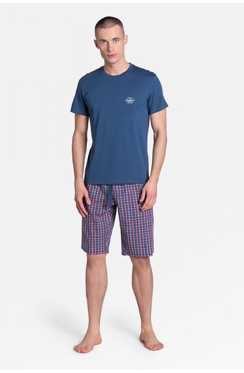 Piżama vyriški modelis Zeroth 38364-59X tamsiai mėlyna - Henderson