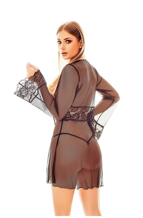 Seksuali suknelė-chalatas modelis 153976 Anais