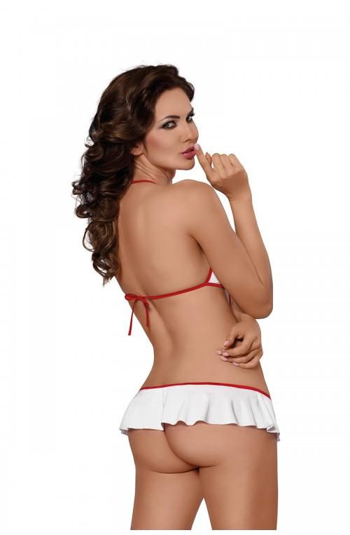 Erotiškas kostiumas modelis 124403 Minkšta liemenėlėLine Collection