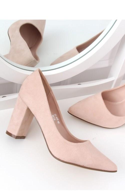 Block heel pumps modelis 142934 Inello