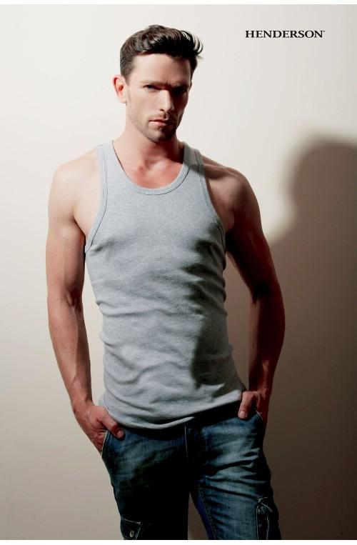 Marškinėliai be rankovių modelis 157066 Henderson