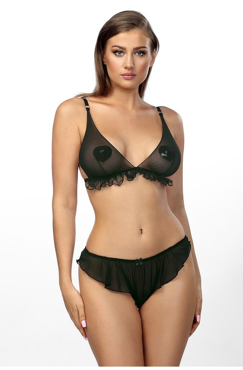 Seksualus apatinių rūbų komplektas modelis 155865 Anais