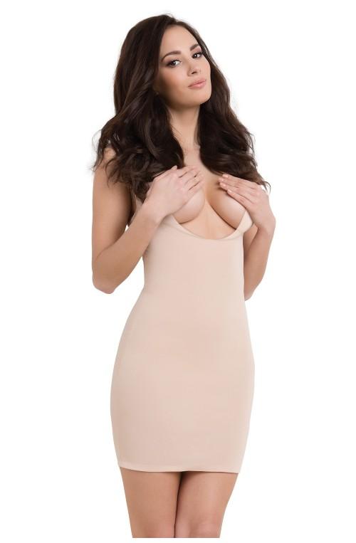 Liekninanti suknelė modelis 119549 Julimex Liekninantis