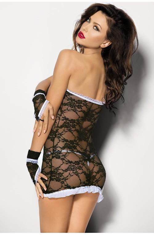 Seksualus apatinių rūbų komplektas modelis 48550 Angels Never Sin