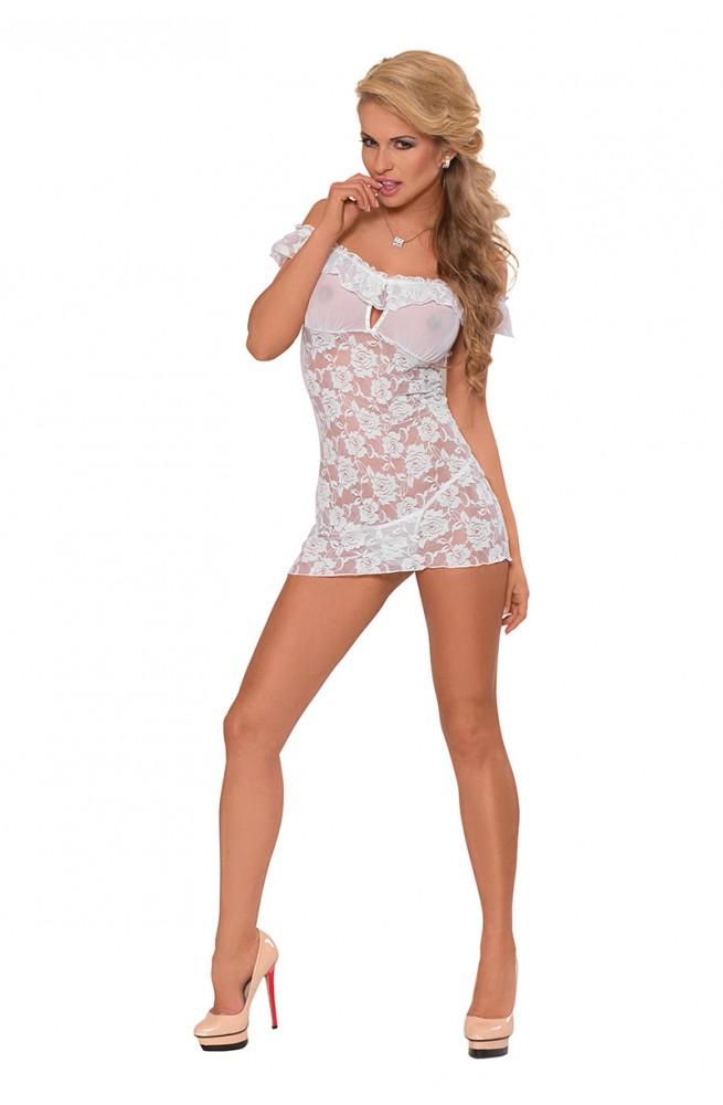 Seksualus apatinių rūbų komplektas modelis 124659 Minkšta liemenėlėLine Collection